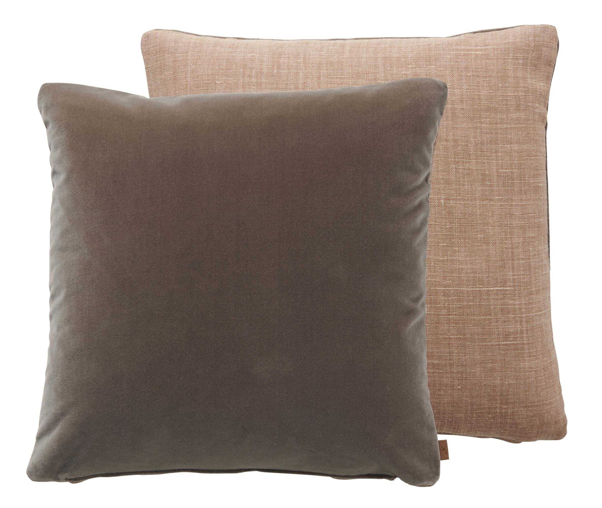 Delilah Scatter Cushion 45x45cm, Harry Apricot & Isla Otter