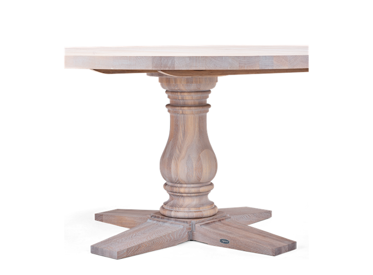 Balmoral 160 Round Table_Seasoned Oak_Detail 3