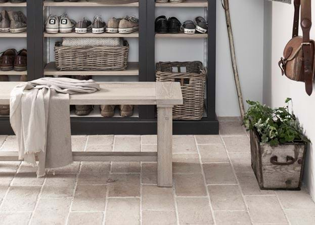 Tamworth tiles in boot room