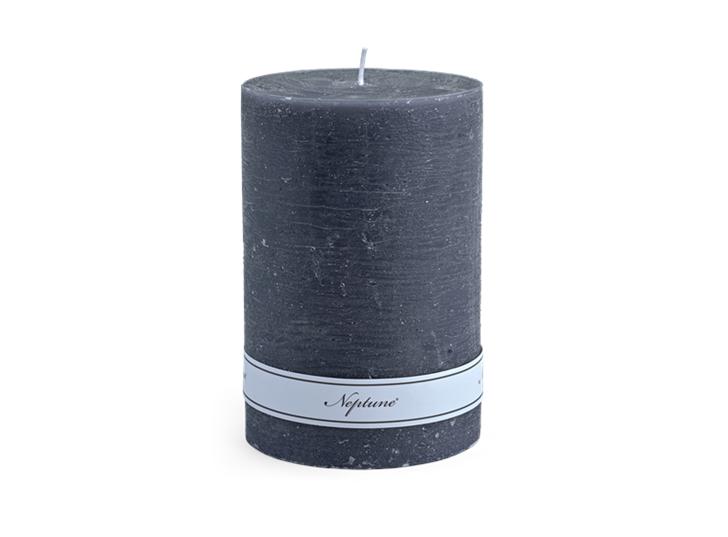 Blyton Charcoal 10x15 Pillar Candle