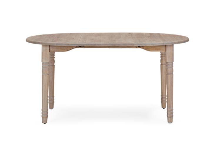 Sheldrake 110-165 Extending Table_Seasoned Oak_FrontExtended