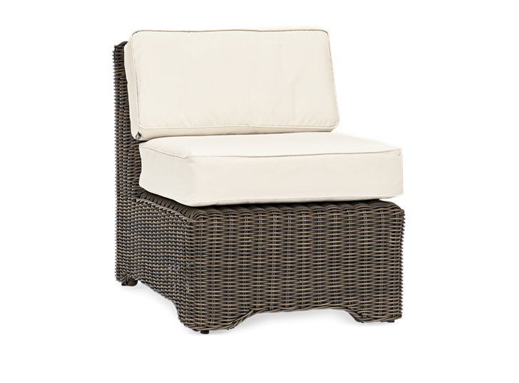 Tresco Mid Section Modular with Oatmeal Cushion_Garden Furniture