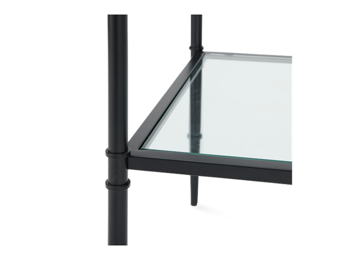Coniston 120 Rectangular Console Table Black Bronze_Detail 3