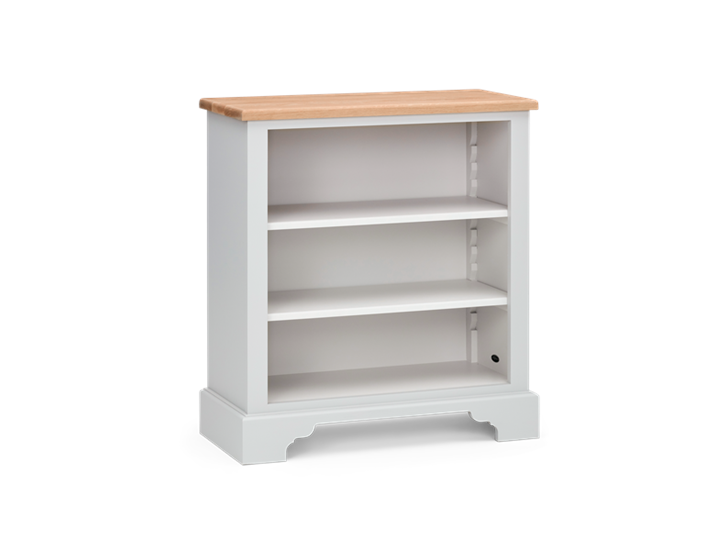 Chichester 3ft Open Bookcase Shingle 3Q