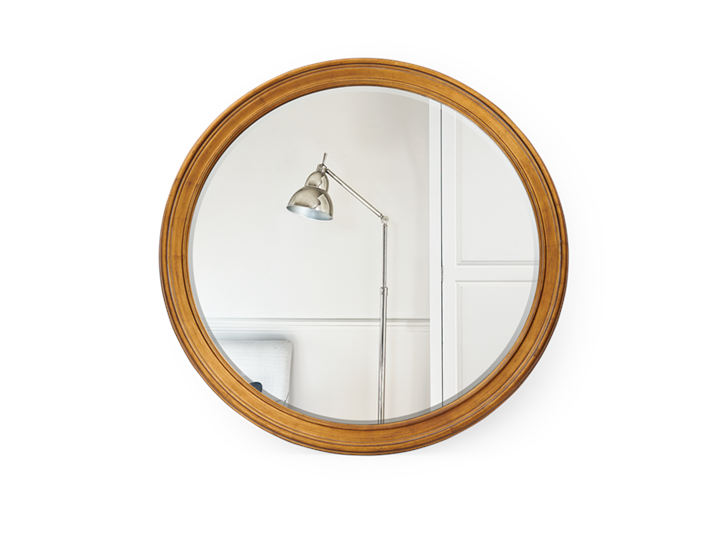 Fleming 120 Mirror Gilt Gold_Front