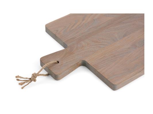 Borough Rectangular Oak Chopping Board Seasoned Oak_Detail 1