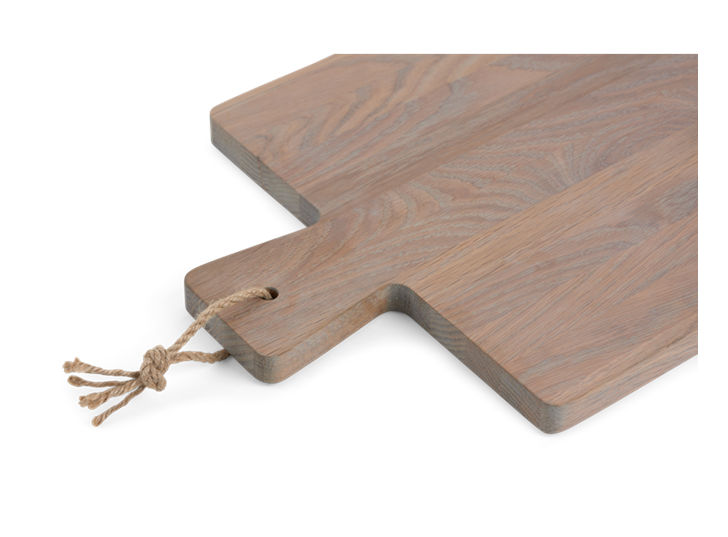 Borough Rectangular Oak Chopping Board Seasoned Oak_Detail 1