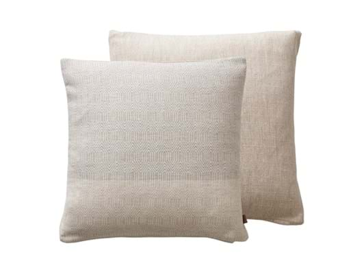 Delilah Cushion 45x45cm Oyster Pink Geo_Double