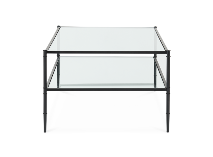 Coniston 140 Coffee Table Black Bronze_Side