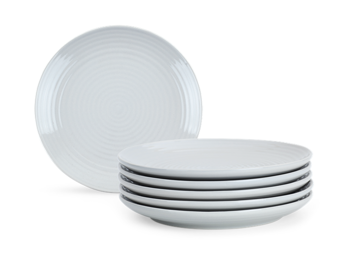 Lewes Side Plate Grey_Stack