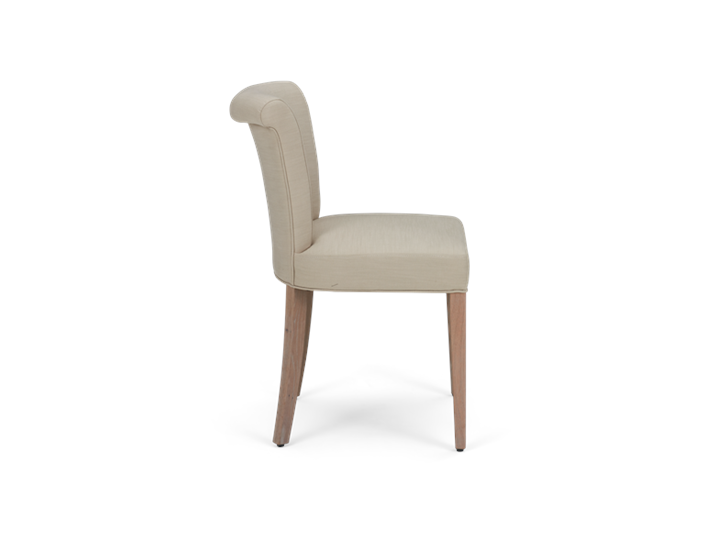 Calverston Dining Chair_Clara Natural_Pale Oak_Side