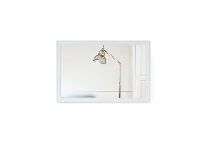Chichester 124 Rectangular Mirror - Small 2