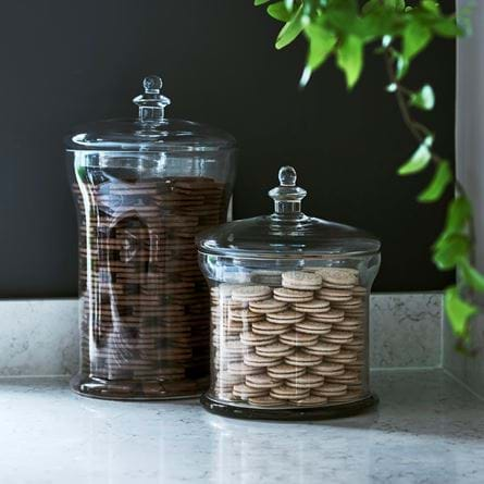 Belmont Glass Jar with Lid - 180mm