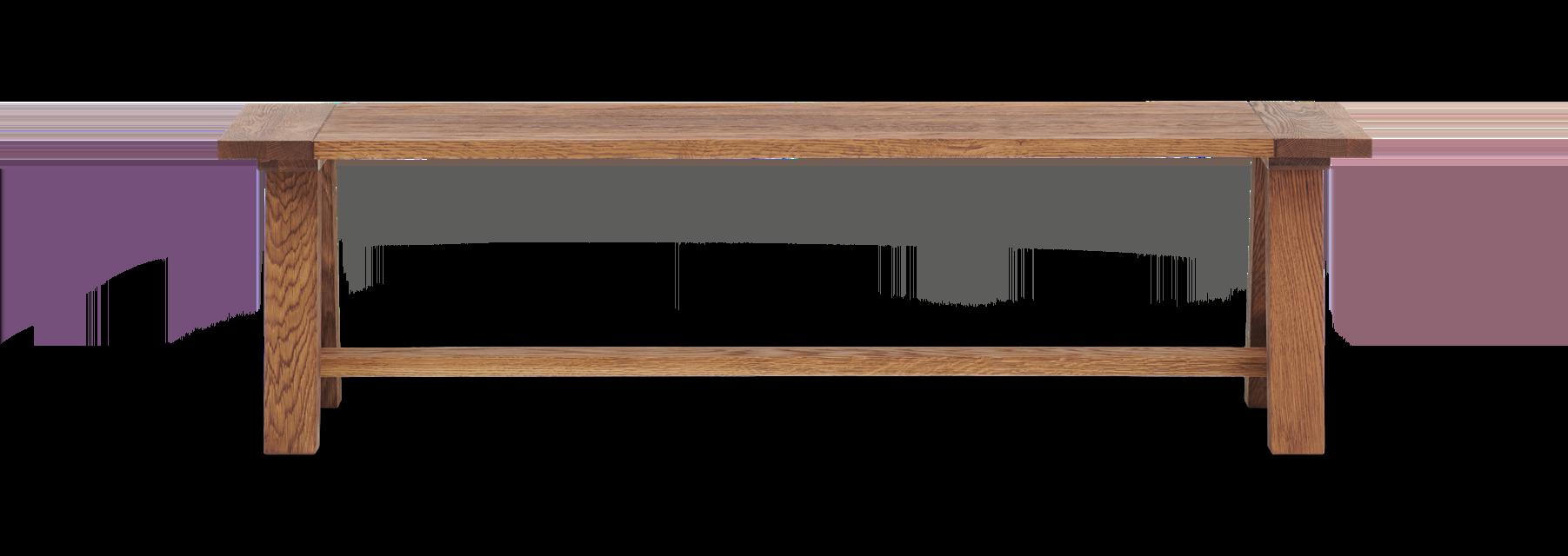 Arundel_150_Bench_Dark Oak_Front