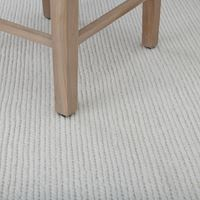 Tolsey Plaid Rug, Off White