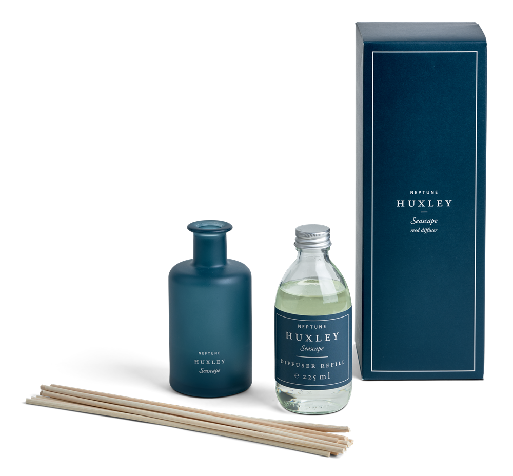 Huxley Reed Diffuser, Seascape Scented