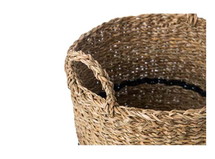 Redford log basket, small, handle