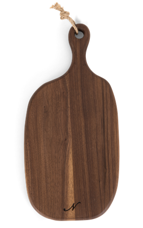 Bermondsey chopping board, with handle, above