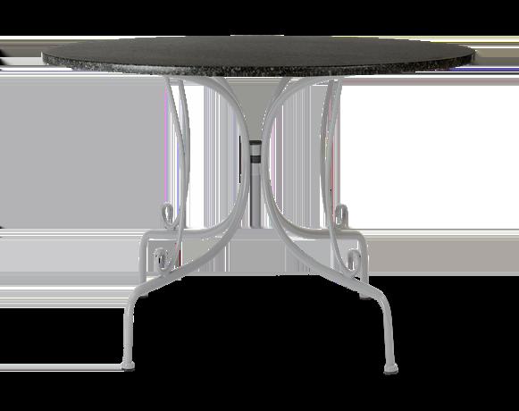 Boscombe 100 Table Cobble_Granite_front