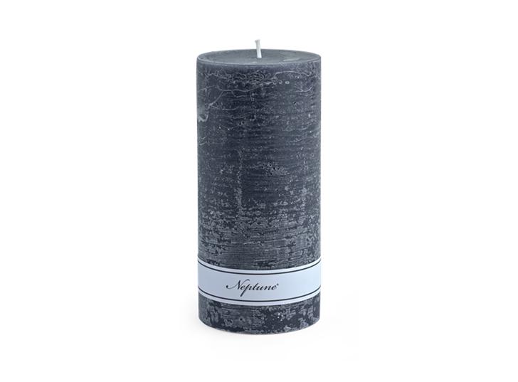 Blyton Charcoal 7x15 Pillar Candle