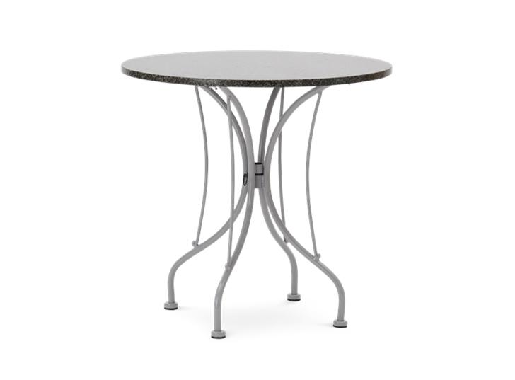 Boscombe Tea for 2 Bistro Table_Cobble & Granite_Garden