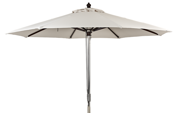 Spinnaker 3m Natural Canvas Parasol