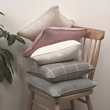 Grace scatter cushion, Clara Warm White