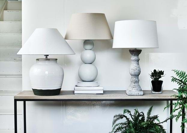 Bloomsbury Medium Lamp with Lucile Shade