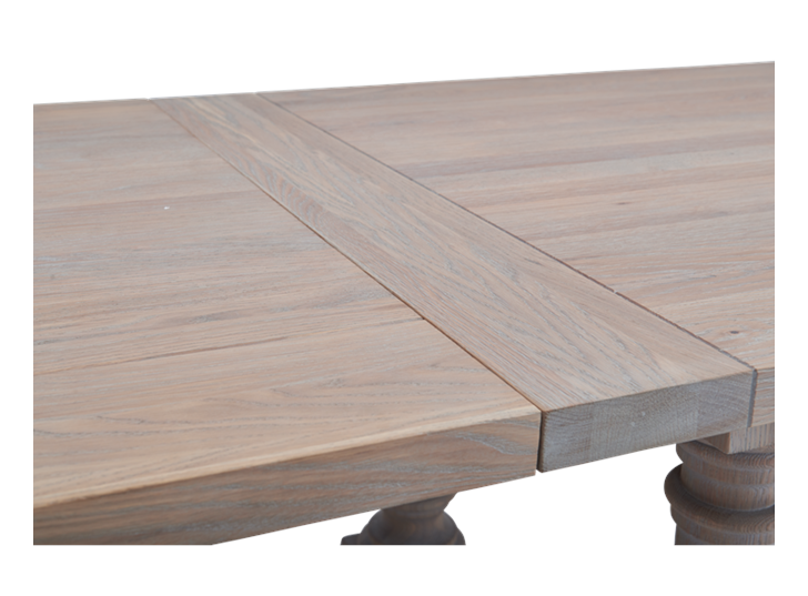 Balmoral 185-275 Extending Table_Seasoned Oak_Detail 2