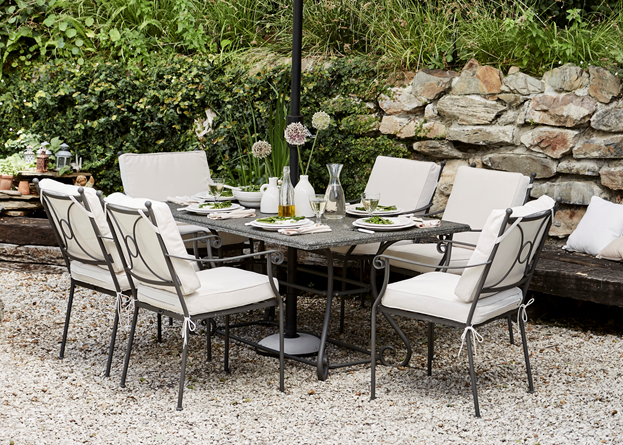 Cheltenham 6-seater Table_Garden Furniture