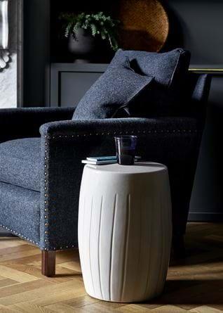 Beswick stool Caspar armchair