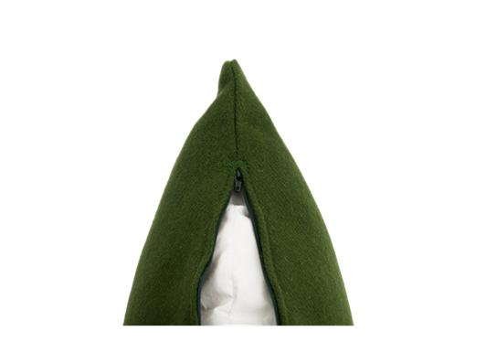 Grace, Harris tweed olive, zip copy