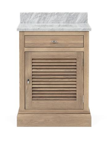 Edinburgh 640 Undermount Washstand With Basin-Right Door-VO-Vintage Oak Front