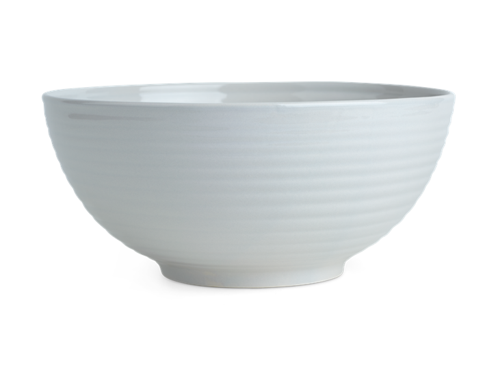 Lewes Serving Bowl Large Grey_Front