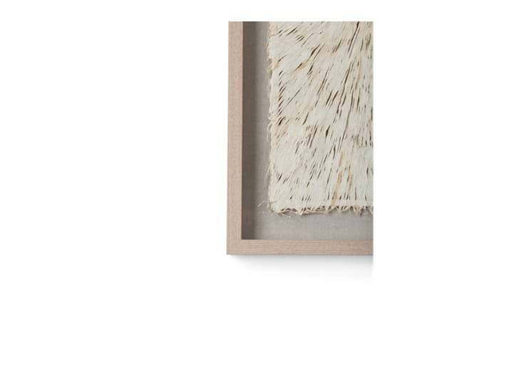 Overton paper art, rectangle, corner