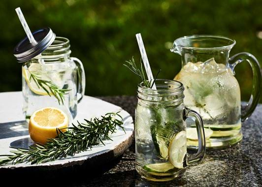 Greenwich glass jug
