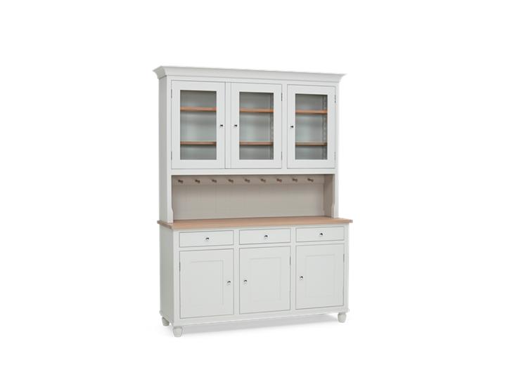 Suffolk 5ft glazed Dresser Silver Bircht 3Q Closed INNER ┬® Robert Smith 2020