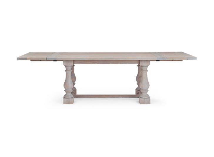 Balmoral 185-275 Extending Table_Seasoned Oak_FrontExtended