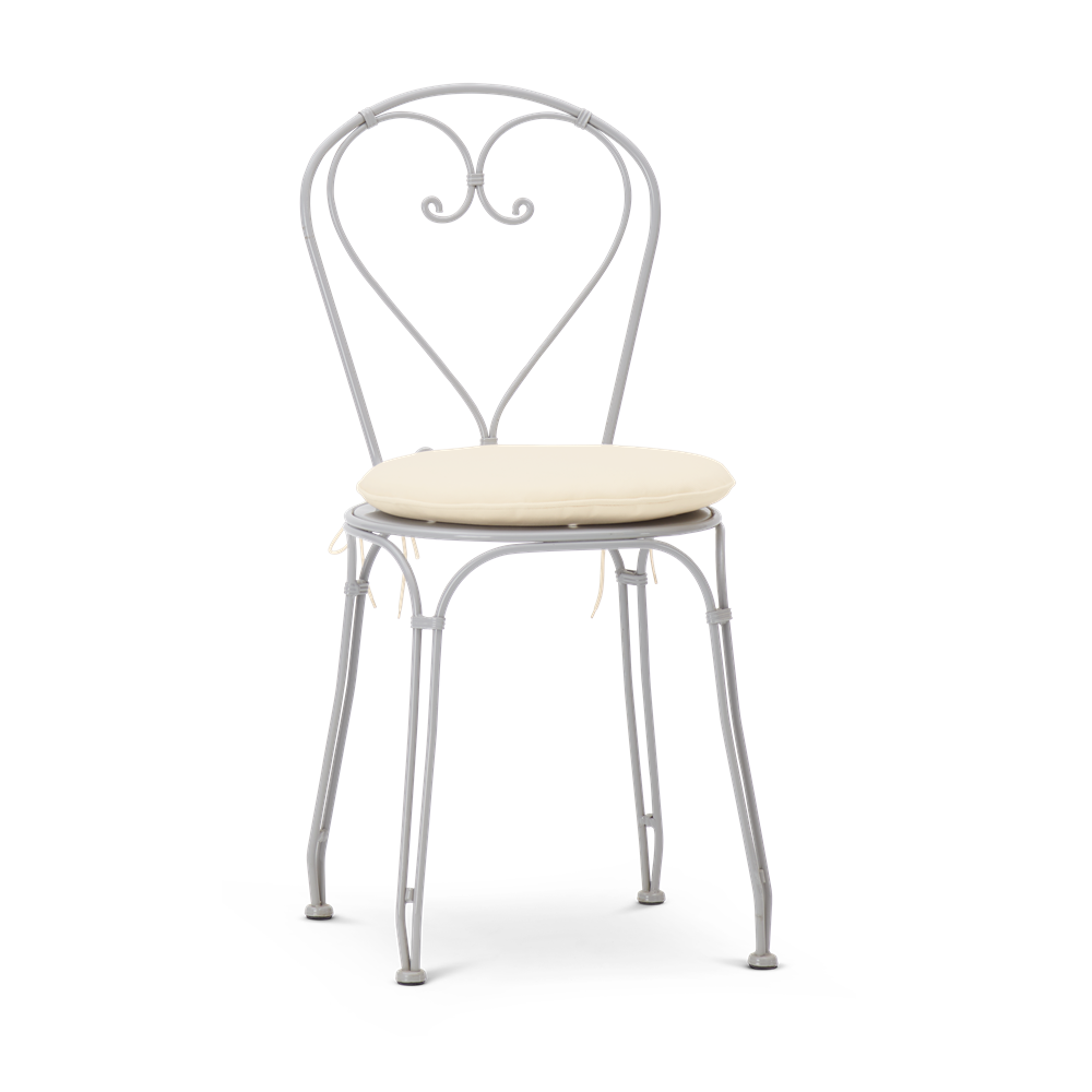 Boscombe Dining Chair Cobble with Oatmeal Cushion_Garden Furniture