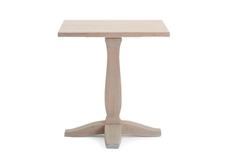 Harrogate 75 Table_Oak Top_Front