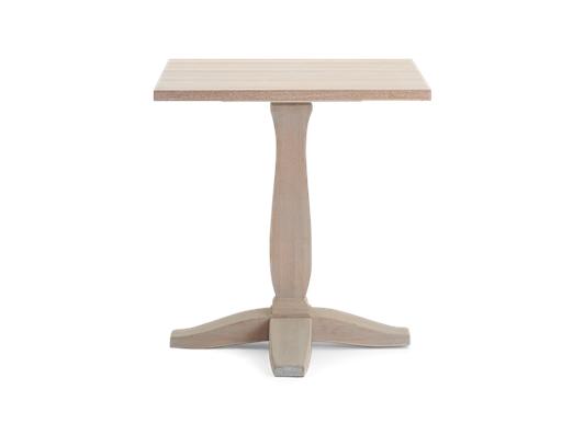 Harrogate 75 Table_Oak Top_Front