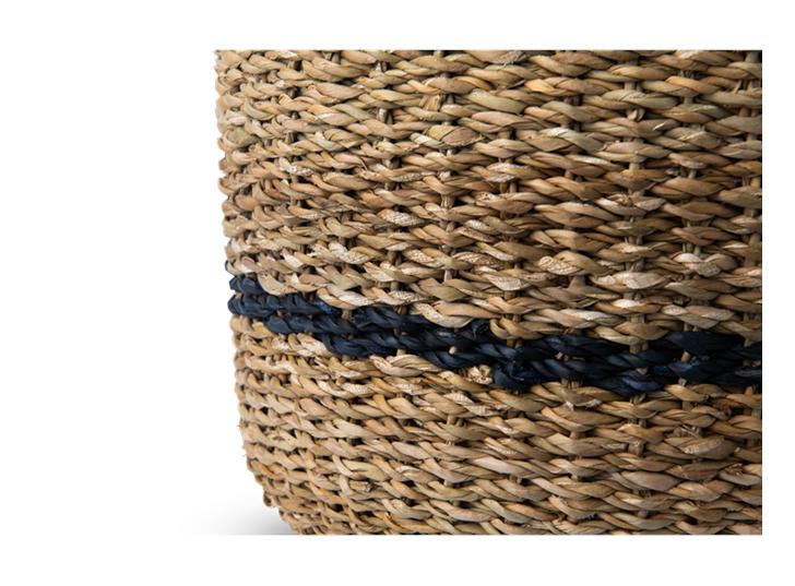Redford log basket, small, detail
