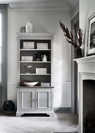 Chichester Open Bookcase Living Office Shelf Styling