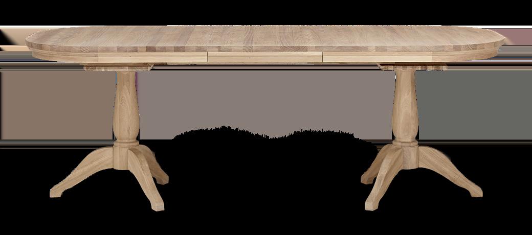 Henley 170-270 Extending Table_Oak_FrontExtended 1