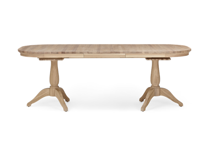 Henley 170-270 Extending Table_Oak_FrontExtended 1