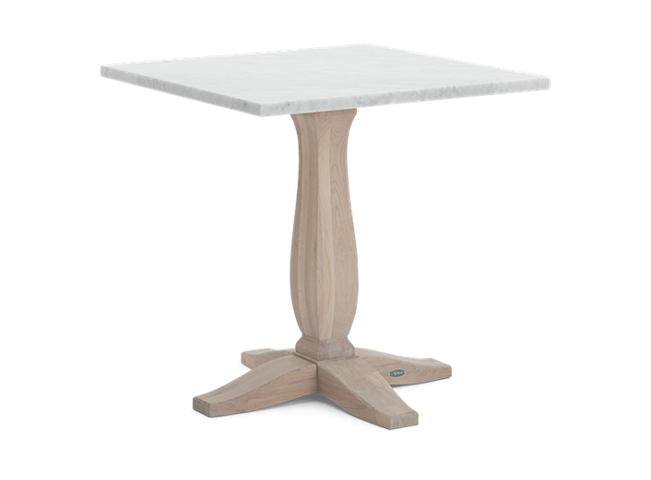 Harrogate 75 Square Table_Marble Top_3Quarter