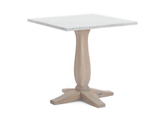 Harrogate 75 Square Table_Marble Top_3Quarter