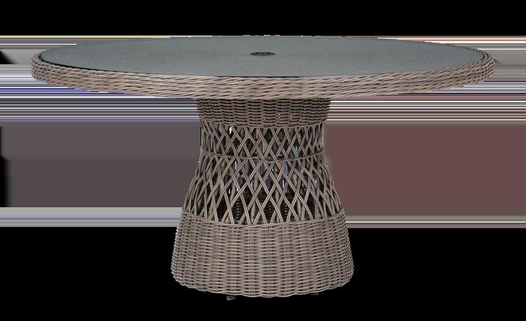 Harrington Round 6-seater Table_Garden Furniture