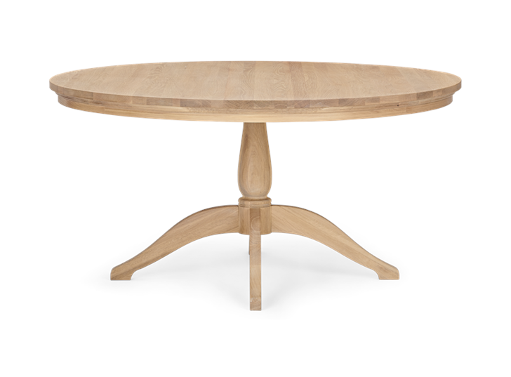 Henley 150 Round Table_Oak_Front