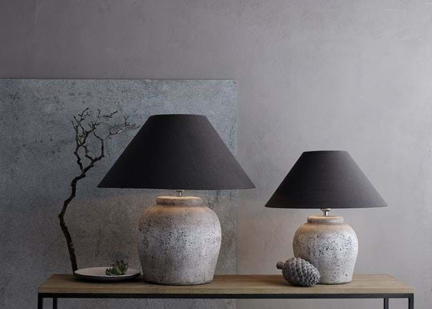 Hanley Lamps Oliver Slate Lampshade